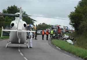 Rencontre Hélicoptère / Véhicule de Soins aux Blessés