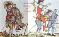 abolition privilèges caricature