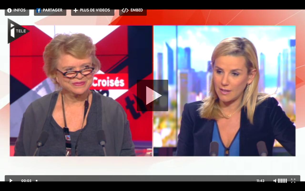 Eva Joly sur I-Télé
