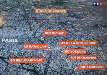 Les attentats du vendredi 13 novembre