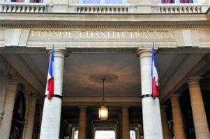 Fronton du Conseil Constitutionnel